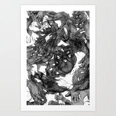 Handsy Art Print