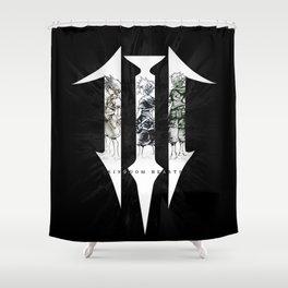The kingdom wielder Shower Curtain