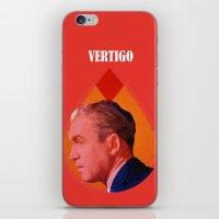 vertigo iPhone & iPod Skins featuring Vertigo  by Oh! My darlink
