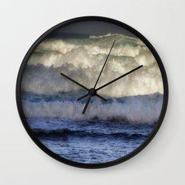 High Surf Wall Clock