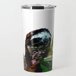 Sloth Low Poly Travel Mug