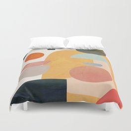 Modern Abstract Art 70 Duvet Cover