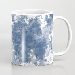 Indigo Blue Ink Splash Coffee Mug
