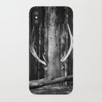 antler iPhone & iPod Cases featuring Antler Tree by J Witt Photography