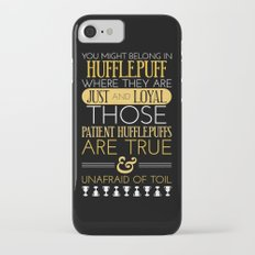 Hufflepuff Slim Case iPhone 7