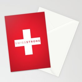 Swiss Strong Stationery Cards