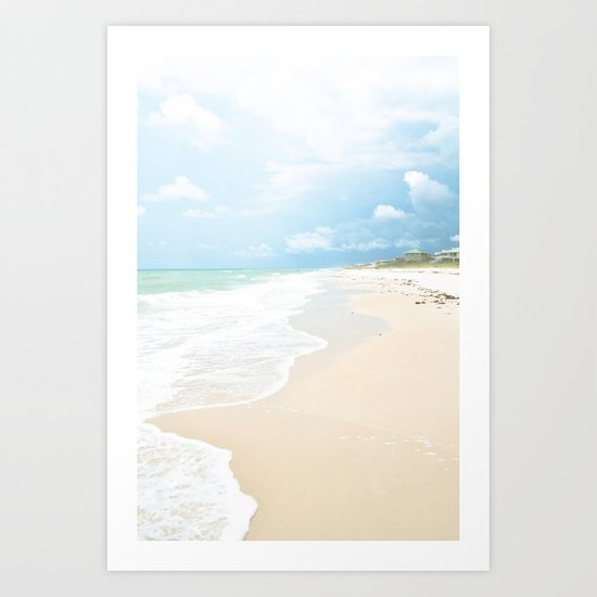 Paradise Shore Art Print