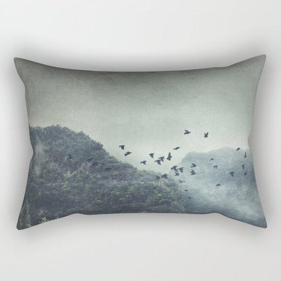 Misty Mountains Vol. X Rectangular Pillow