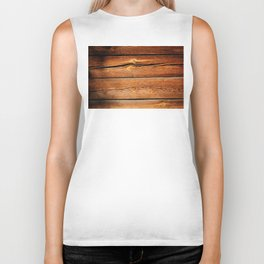Rustic Wooden Planks  Wood Board Country Gifts Biker Tank