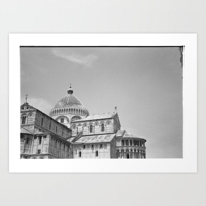 Scanned negative of Cattedrale di Pisa Art Print