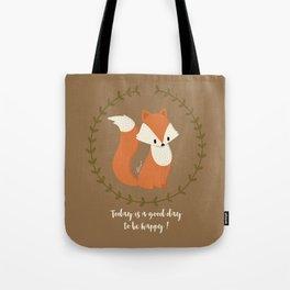 Renard roux // Red fox Tote Bag