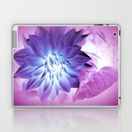 Purple Flower X-Ray Laptop & iPad Skin