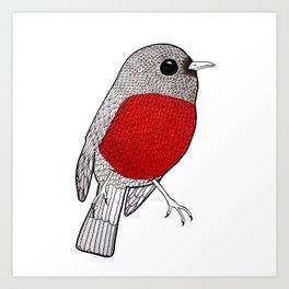 RedBreast Art Print