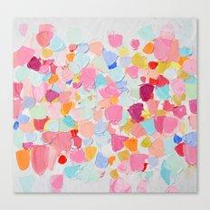 Amoebic Confetti Canvas Print