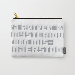 Rather Be Mysterious... Carry-All Pouch