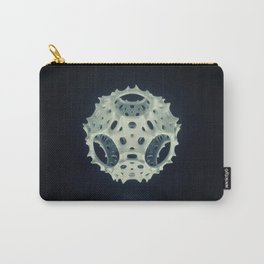 Icosahedron Bloom Carry-All Pouch