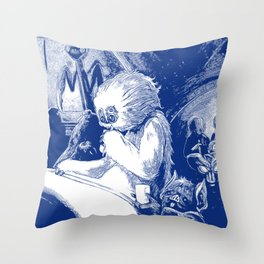Hive of Scum and Villainy Throw Pillow