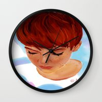 ginger Wall Clocks featuring Ginger by Adelys