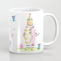 louis Mugs featuring Louis by Fournier