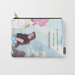 Temple by the Sea Carry-All Pouch