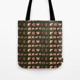 Go Organic Pattern Tote Bag