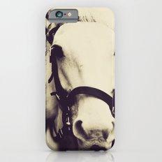 White Horse iPhone 6s Slim Case