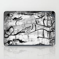 blank & white fishes iPad Case