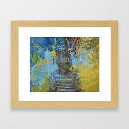 Swazi Art 6 Framed Art Print