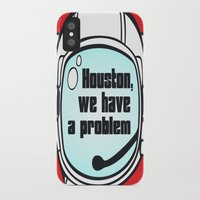 houston iPhone & iPod Cases featuring Houston Problem by TheLaptopSkinVault