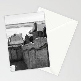 Medieval Coastline- Le Mont Saint Micheal Stationery Cards