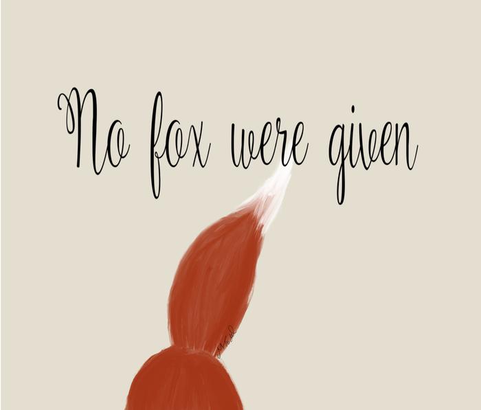 No Fox Were Given Metal Travel Mug