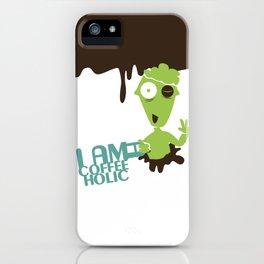 Coffee holic iPhone Case