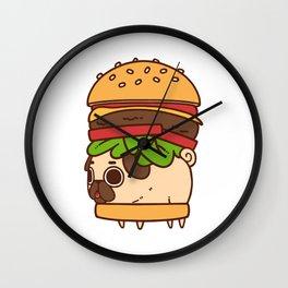 Puglie Burger Wall Clock