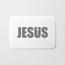 Jesus Cross Religion #society6 #decor #buyart #artprint Bath Mat