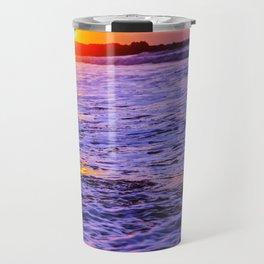 dusk to wave Travel Mug
