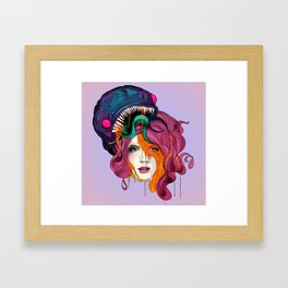 Awaken the demon within Framed Art Print
