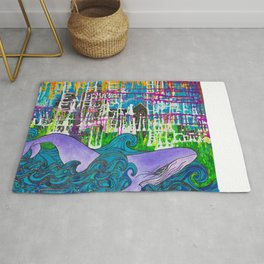 Party Wave Rug