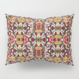 Rose buds and floral decorative Pillow Sham
