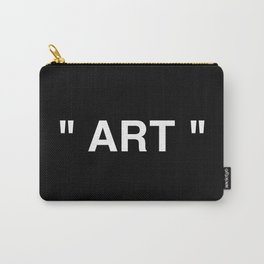 """"""" Art """" (Negative) Carry-All Pouch"""