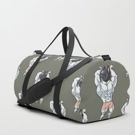 FrenchBulldog Bodybuilder Duffle Bag