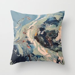 Geography I Throw Pillow