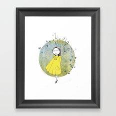 Yuan Wen  Framed Art Print