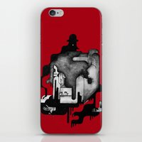 dramatical murder iPhone & iPod Skins featuring Murder by Iribú