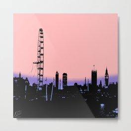 London Skylne Metal Print