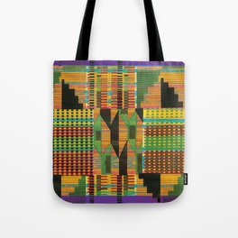 Kente Stripes Tote Bag