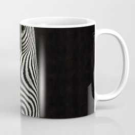 Zebra stripes on woman - Nude Zebrawoman Coffee Mug