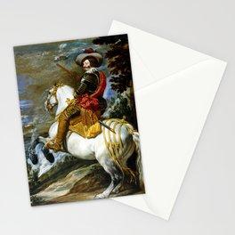 Diego Velázquez Don Gaspar de Guzmán Stationery Cards