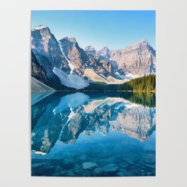 Moraine Lake, Canada #buyart #society6 Poster