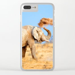 Self-Fun Clear iPhone Case