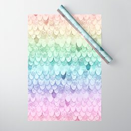 MAGIC MERMAID - PASTEL RAINBOW Wrapping Paper